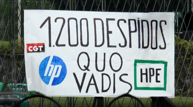 Despidos HP
